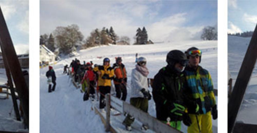 Pistenplan Skigebiet Vögelinsegg / Speicher