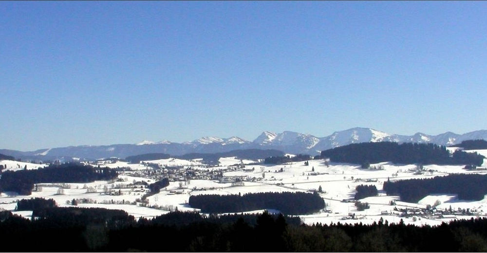 Pisteplan Skiområde Oberberglifte Simmerberg