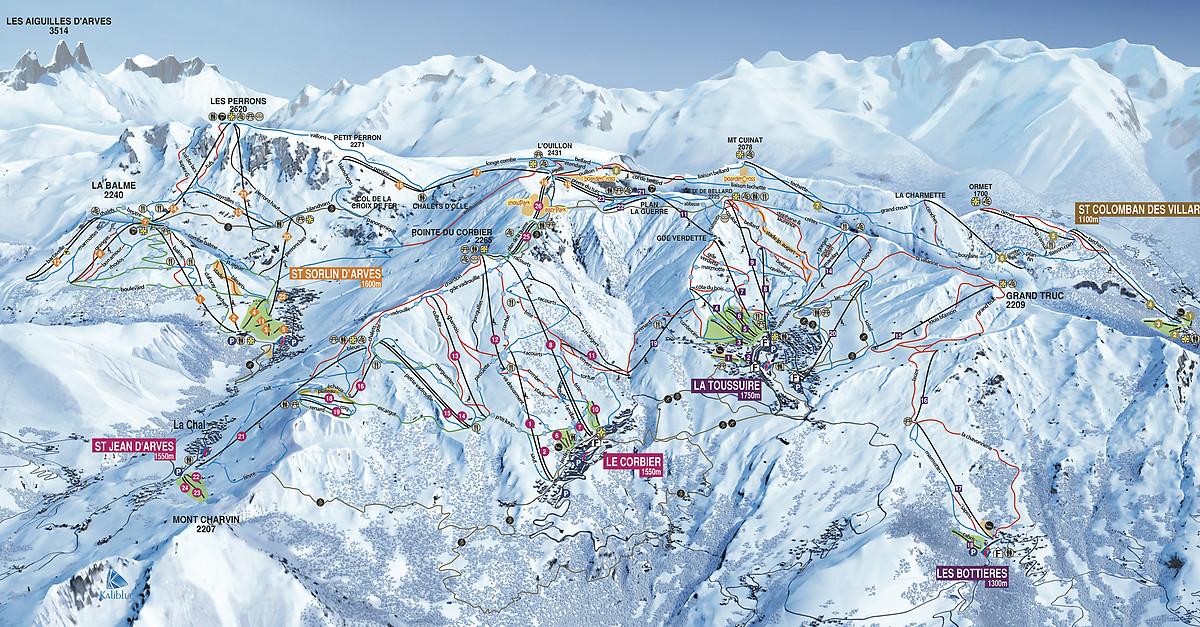 Https Www Sybelles Ski En Webcams