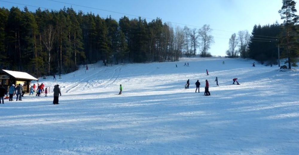 Pistenplan Skigebiet Eschenfelden - Hirschbach