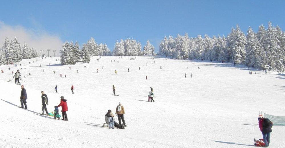 Pisteplan Skiområde Ruhestein