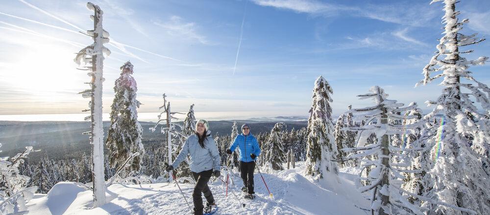 Loipenplan Nordic Park Fichtelgebirge