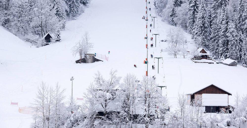 План лыжни Лыжный район Črna na Koroškem