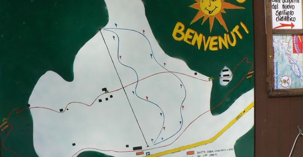Piste map Ski resort Cioss Prato / Bedretto