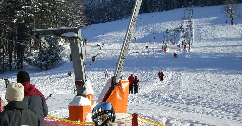 Pisteplan Skigebied Zlaim - Grundlsee