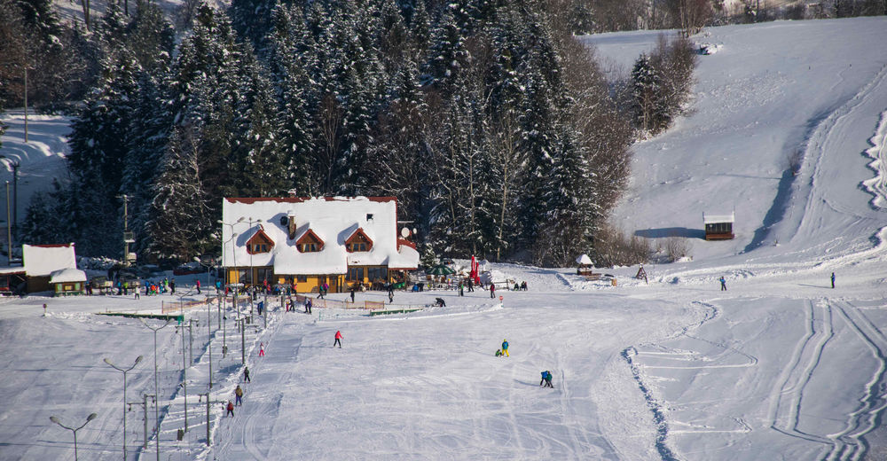 Mapa stoków Ośrodek narciarski Lesko-Ski / Weremień