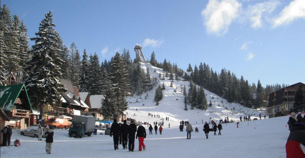 Pistenplan Skigebiet Vlašić