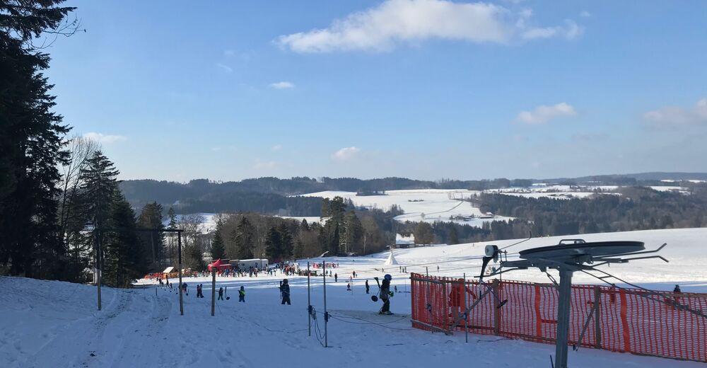 Pistenplan Skigebiet Schafbüel - Wildberg