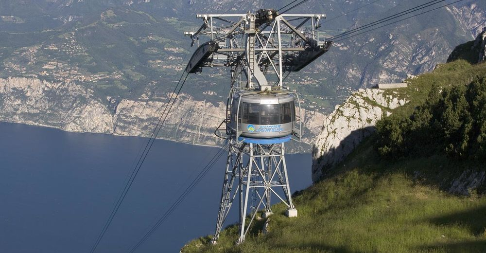 Pályaterv Síterület Malcesine - Monte Baldo