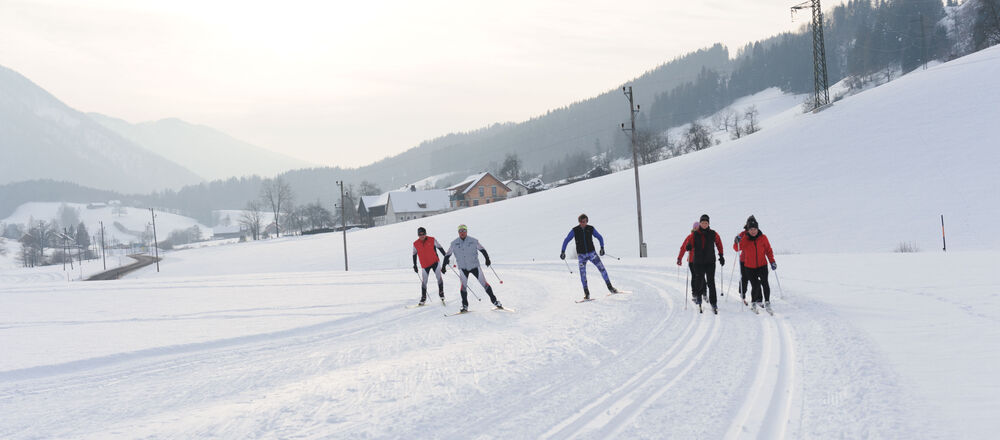 Loipenplan Wintertreff Prolling - Ybbsitz