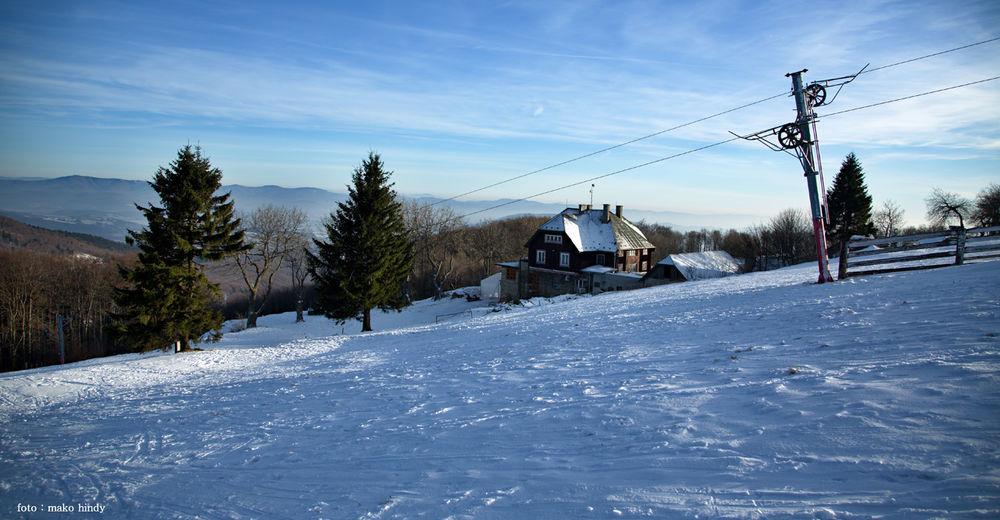 Piste map Ski resort Veľká Javorina