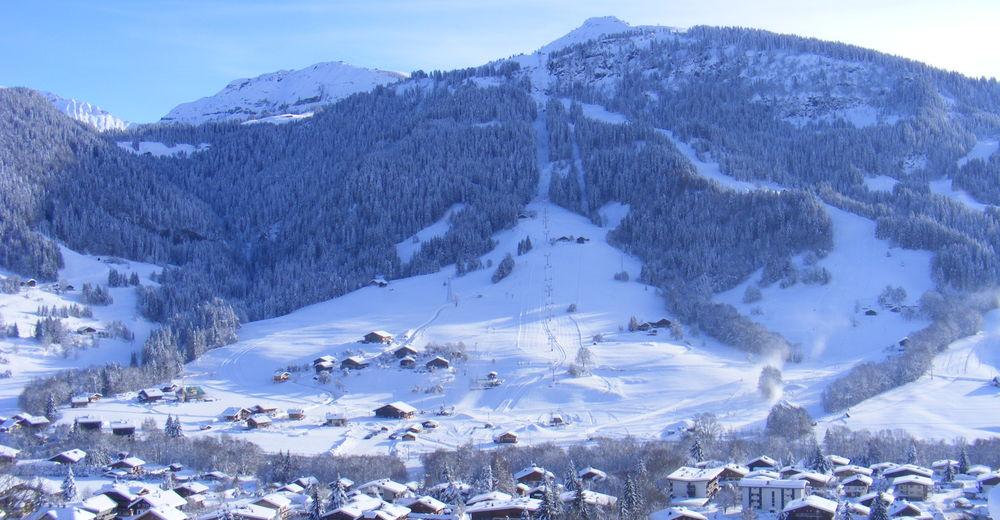 Pistplan Skidområde Praz sur Arly - Espace Diamant
