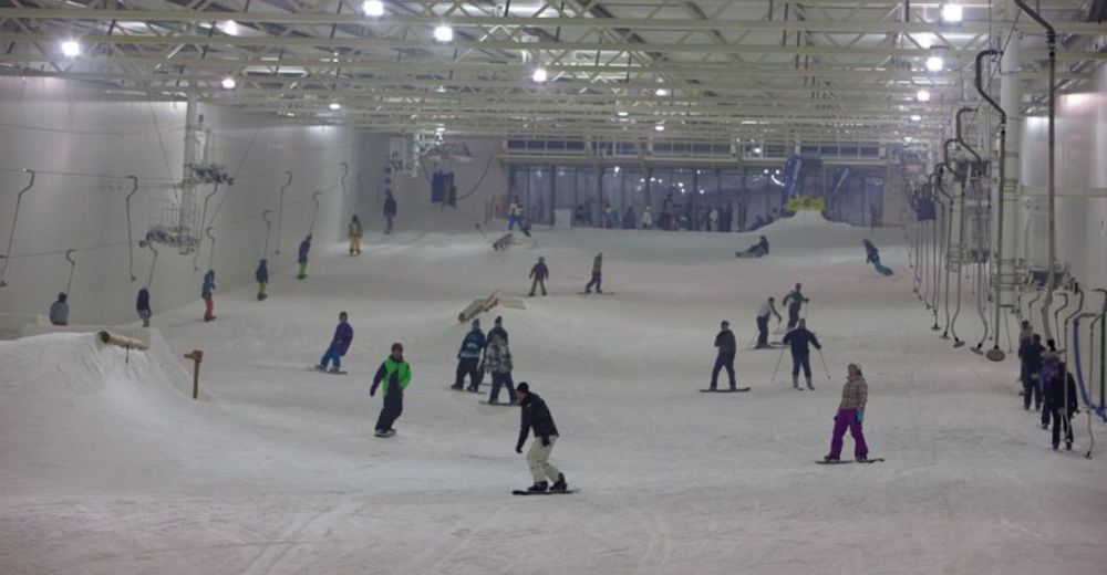 Piste map Ski resort SnowWorld  Terneuzen