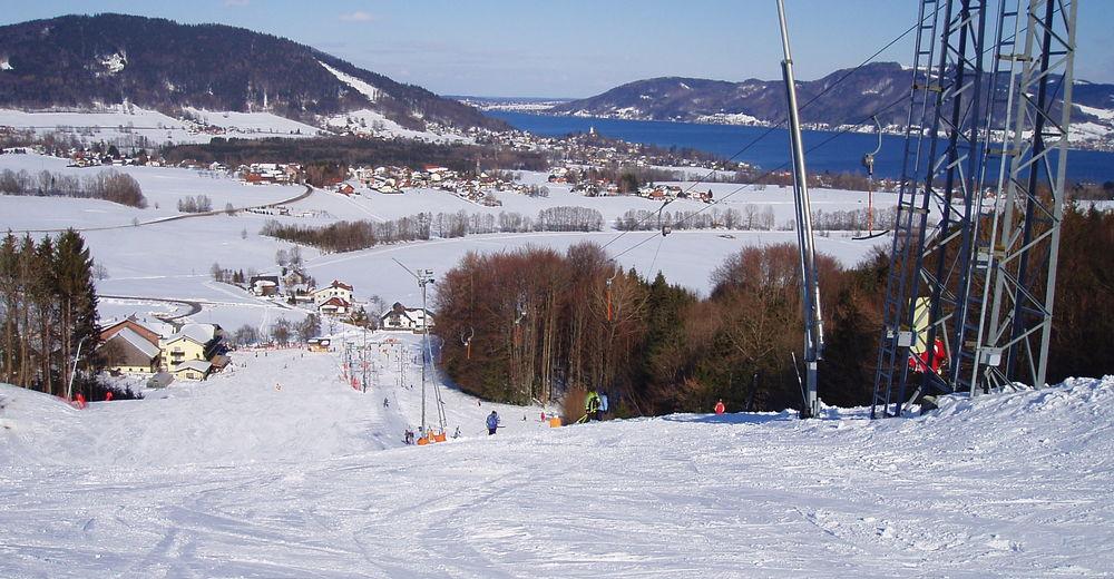 Pisteplan Skigebied Attergau Schilift Kronberg