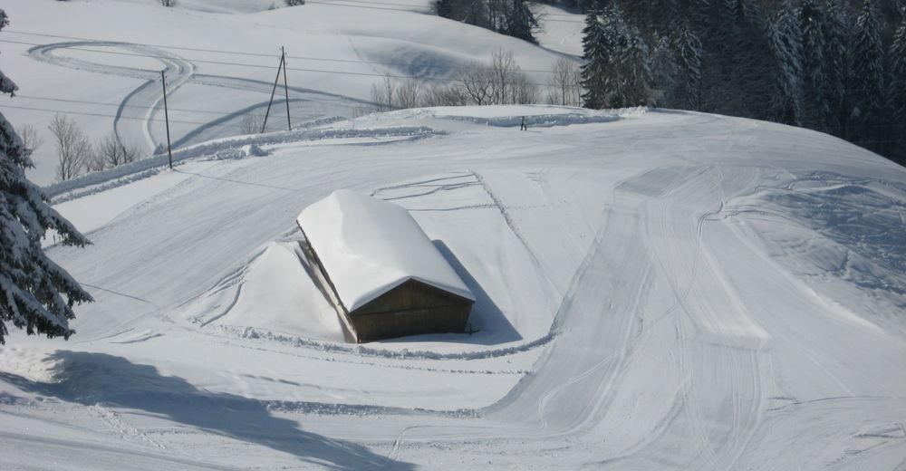 Mapa zjazdoviek Lyžiarske stredisko Oberholz-Farner