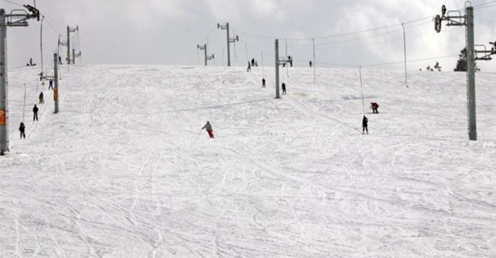Pistplan Skidområde Lierneux - Le Monty