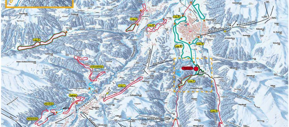 Loipenplan Oberstdorf
