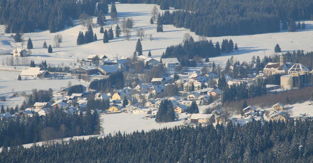 Plan skijaških staza Skijaško područje Haidmühle - Bischofsreut - Frauenberg