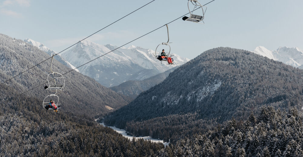 Plan de piste Station de ski Katzenkopf Leutasch
