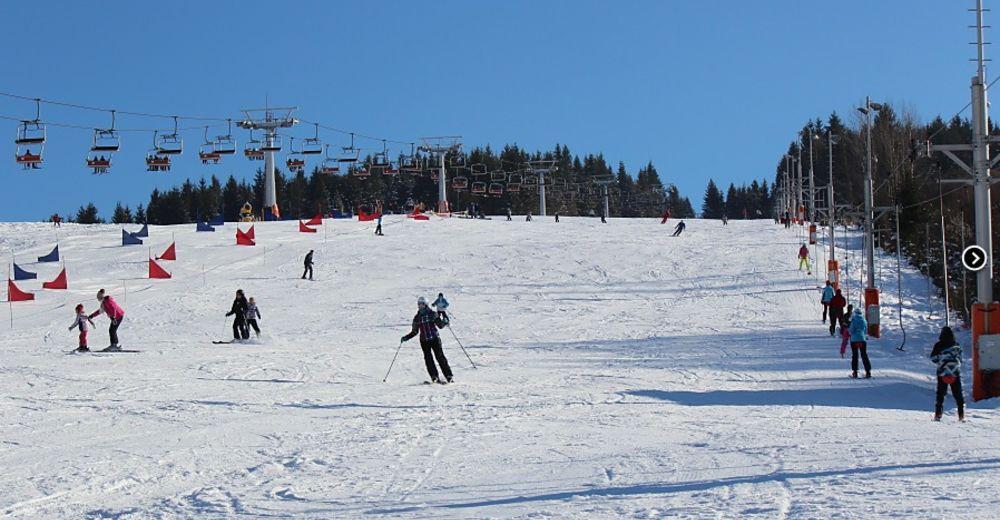 Pistenplan Skigebiet Krušetnica