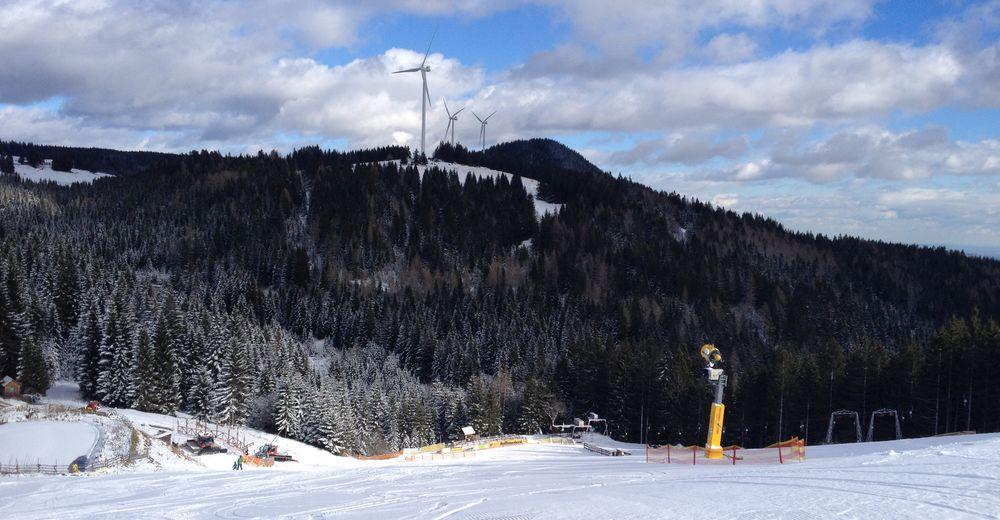 Načrt smučarske proge Smučišče Klug Lifte Hebalm - Freiländeralm