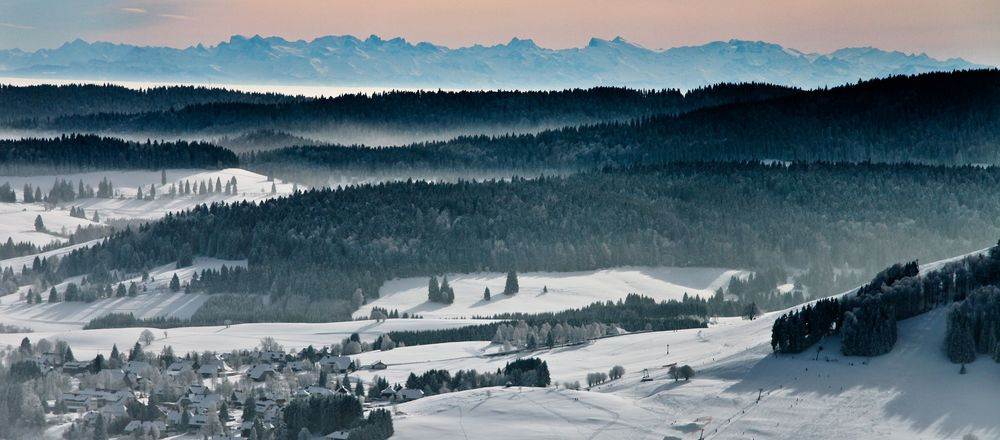 Loipenplan Bernau im Schwarzwald