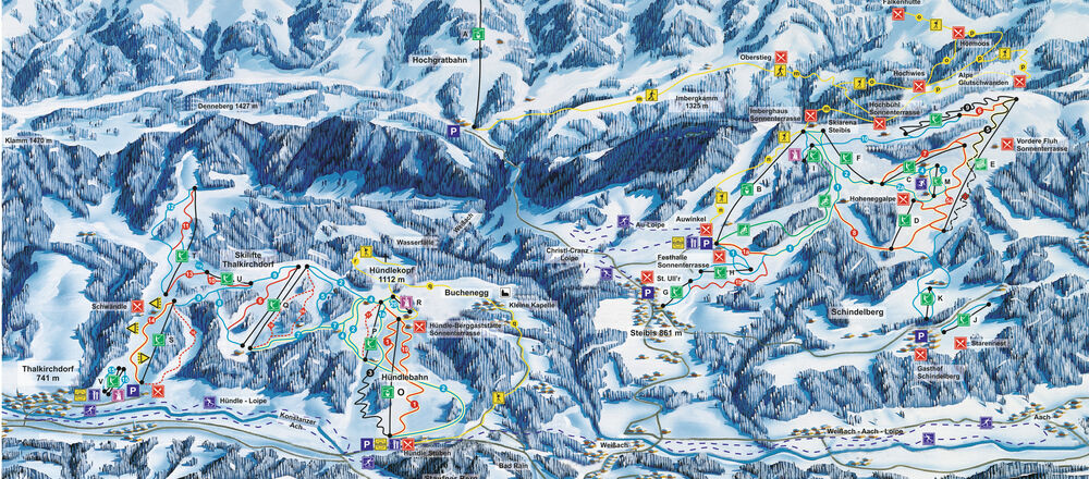 Loipenplan Oberstaufen
