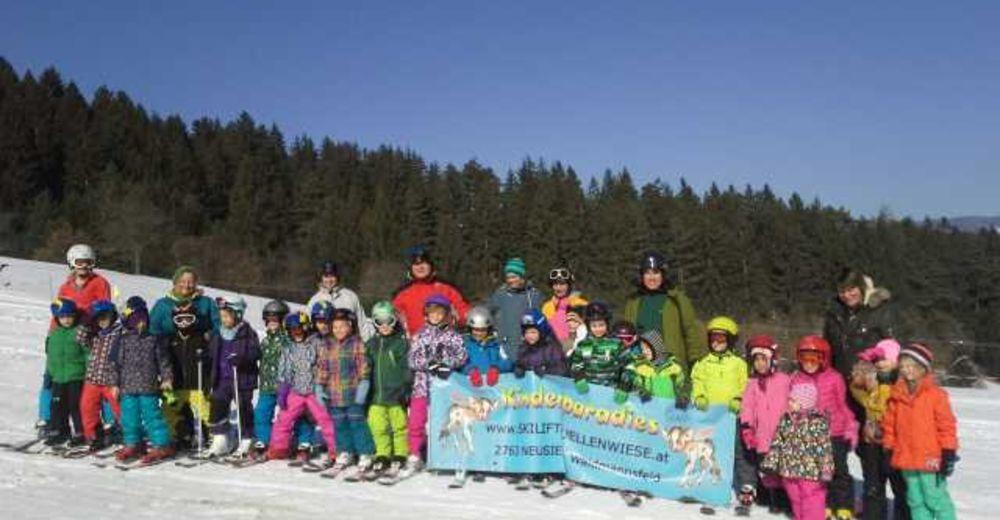 Pistplan Skidområde Skilift Quellenwiese