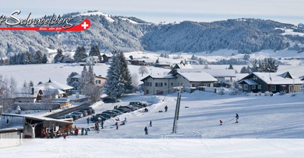 Pistenplan Skigebiet Schnabelsberg / Einsiedeln