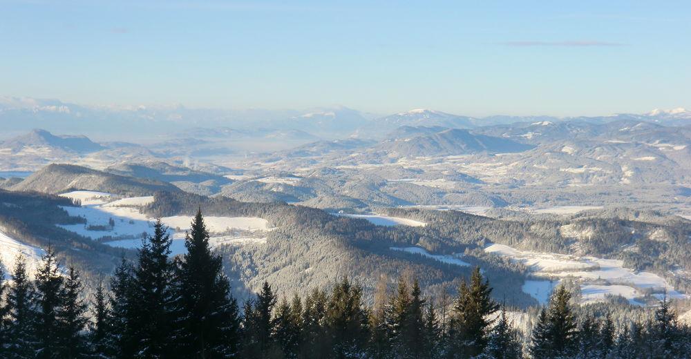 Plan skijaških staza Skijaško područje Eberstein - Saualpe