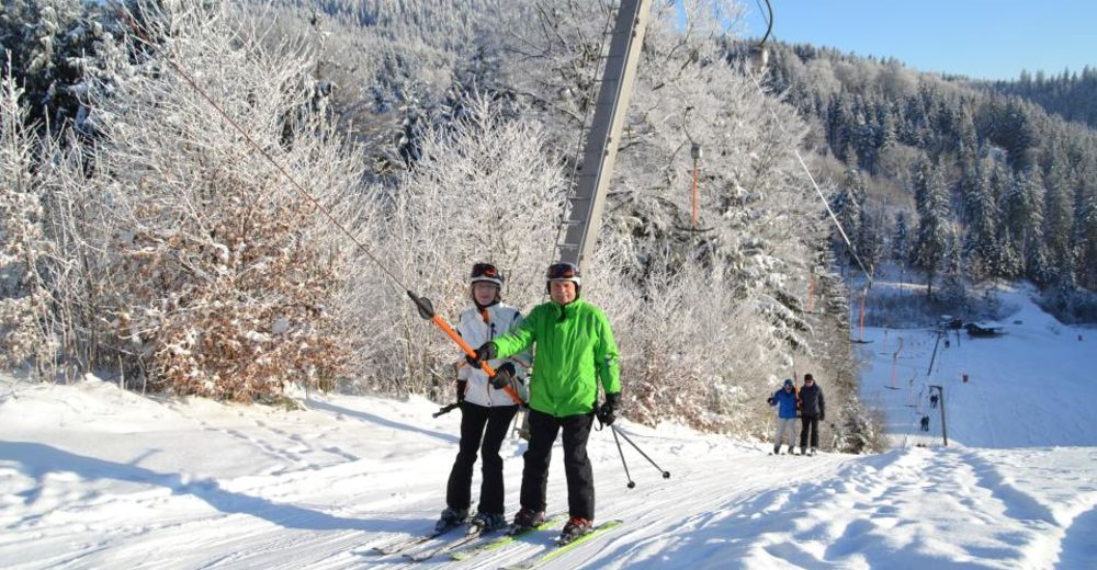 Pistenplan Skigebiet Bergwiesenlift / Schwarzenbach am Wald