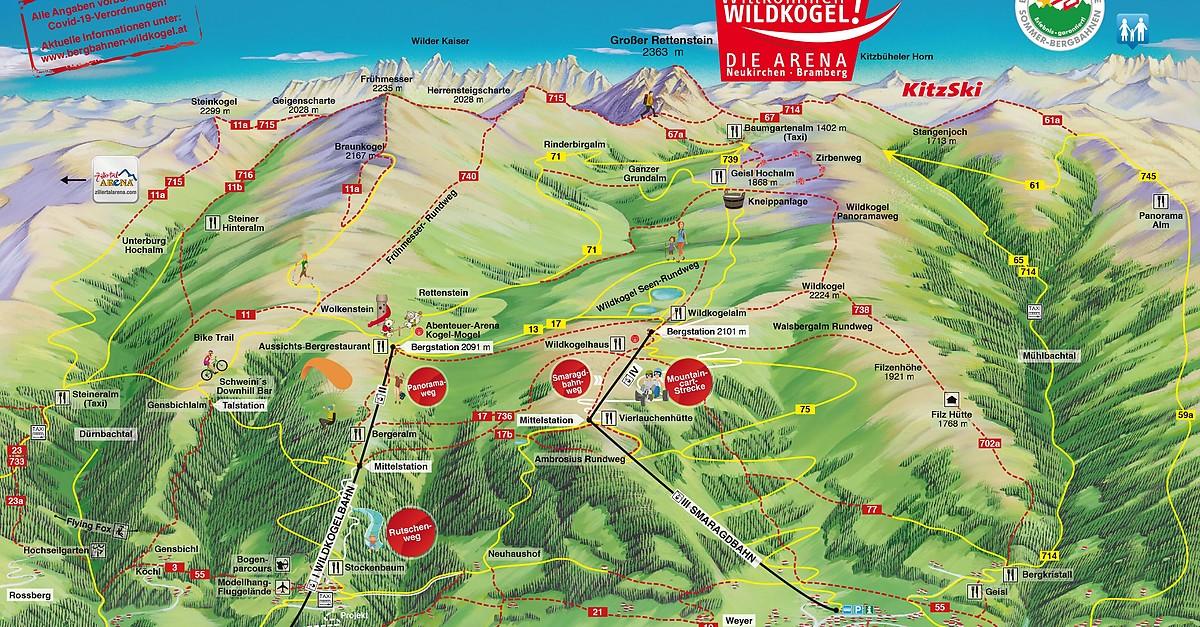 Bramberg / Wildkogel-Arena - Bergfex