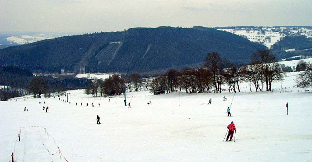 Pistplan Skidområde Val de Wanne / Trois-Ponts