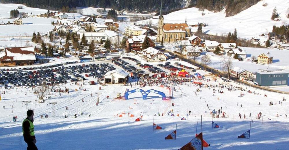 Pistenplan Skigebiet Bennau / Einsiedeln