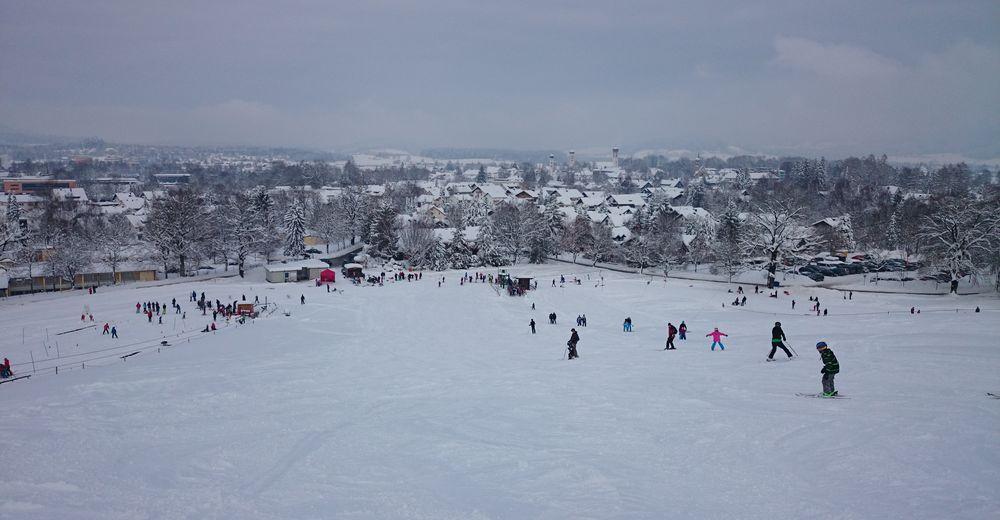 Pistenplan Skigebiet Isny - Felderhalde / Max Wild Arena