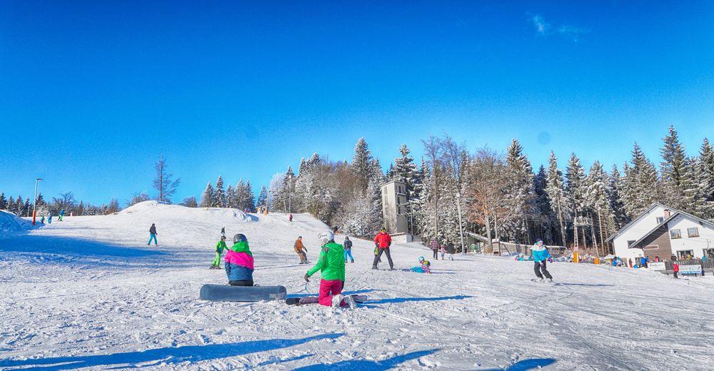 Pistenplan Skigebiet Bleaml Alm - Neubau / Fichtelberg