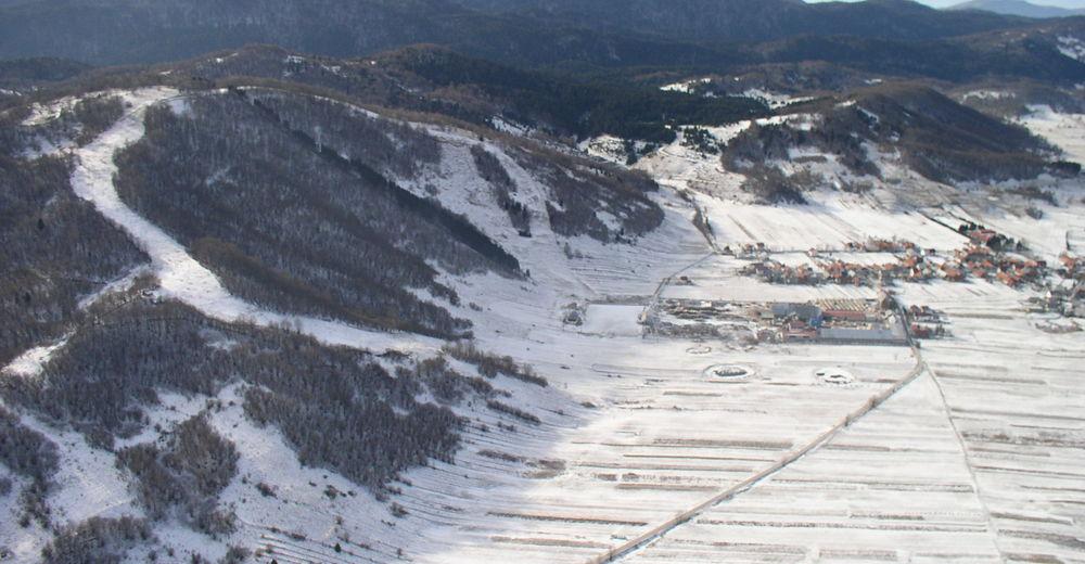 Plan de piste Station de ski Čelimbaša