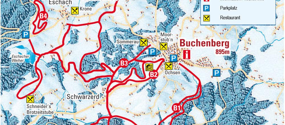 Loipenplan Buchenberg
