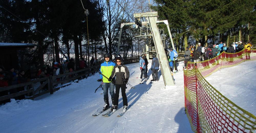 Plano de pista Estación de esquí Eisenberg / Neuenstein