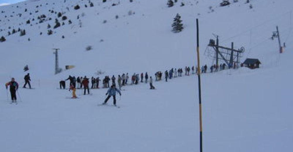 Plan skijaških staza Skijaško područje Céüze 2000