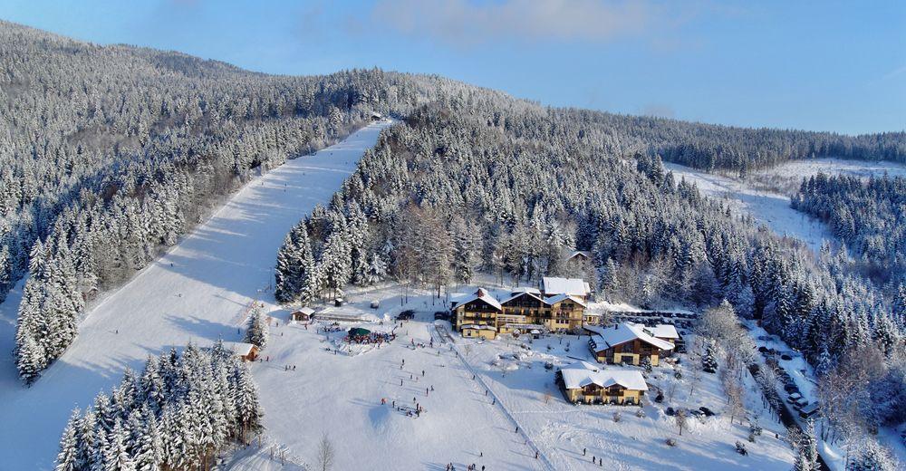Planul pistelor Zonă de schi Riedlberg