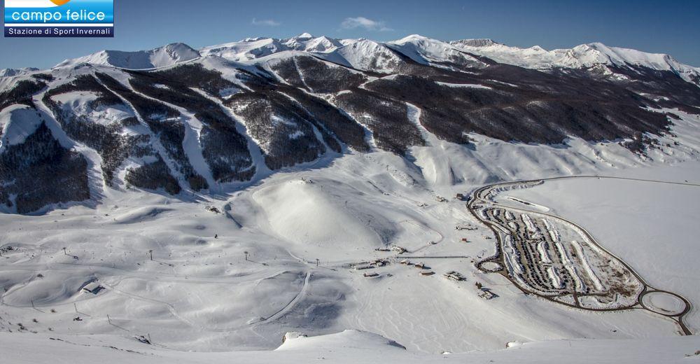 План лыжни Лыжный район Campo Felice
