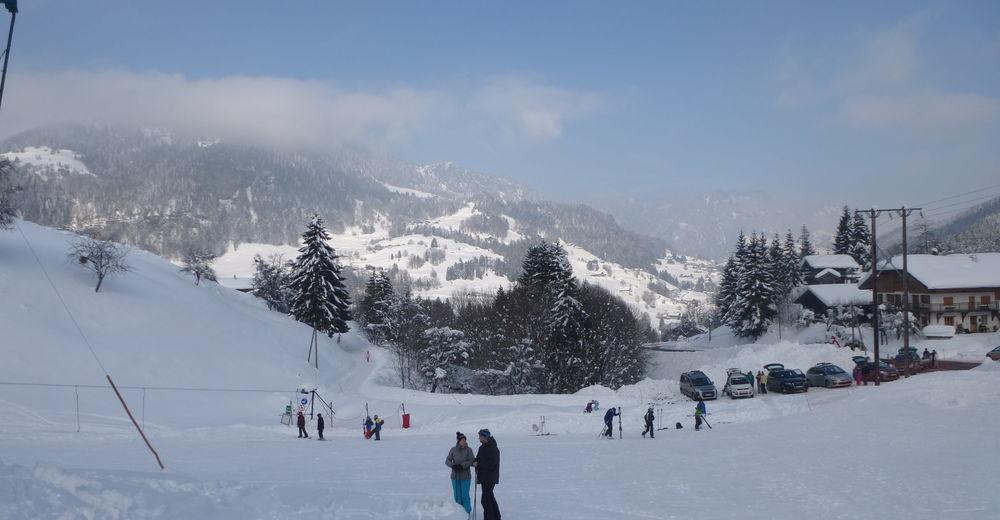 Plan de piste Station de ski Les Rafforts / Héry sur Ugine
