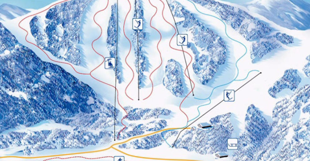 Piste map Ski resort Soriška planina