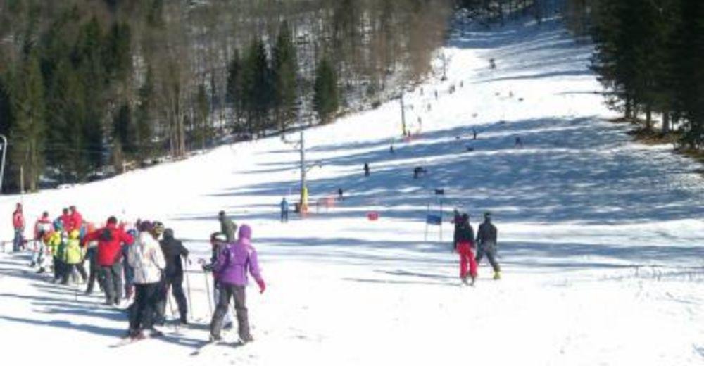 Piste map Ski resort Logarska dolina