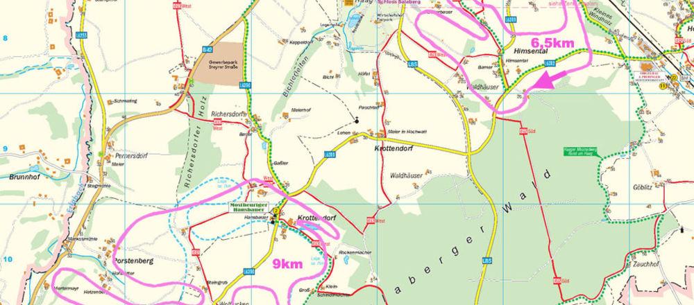 Loipenplan Haag