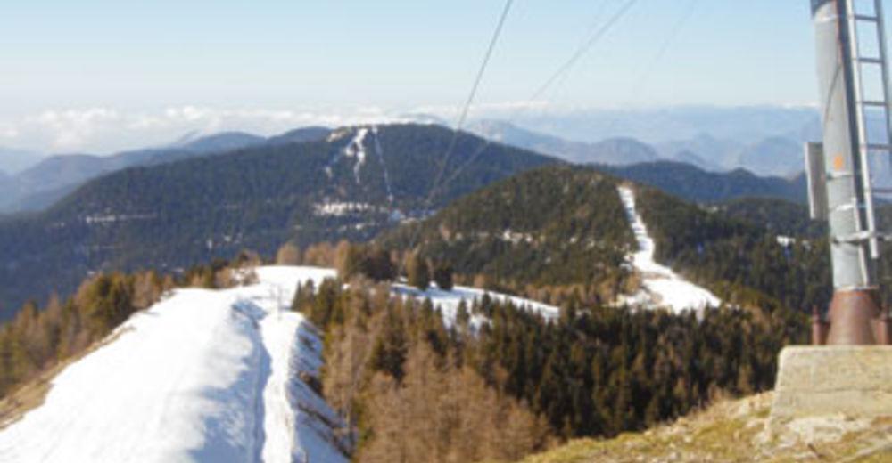 Plan skijaških staza Skijaško područje Col de Turini/Camp d'argent