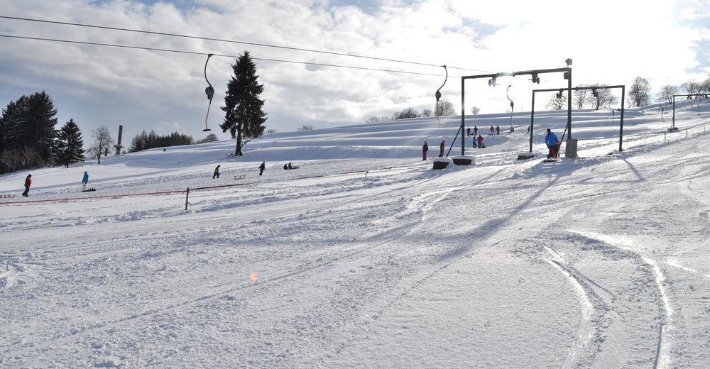 План лыжни Лыжный район Frankenlift Wurzbach
