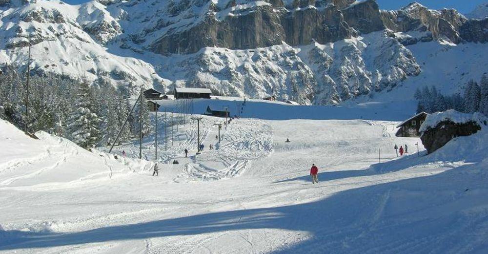 Bakkeoversikt Skiområde Skilift Kellerberg / Haldi