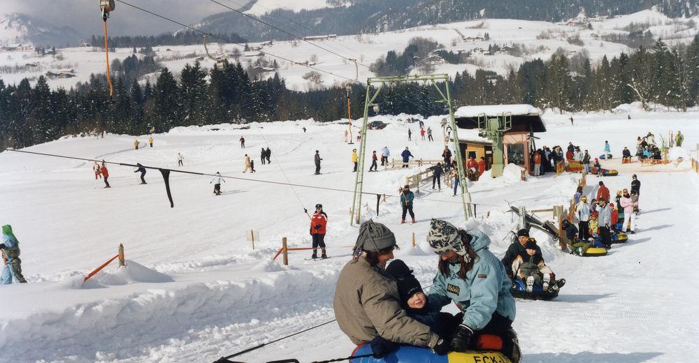 Bakkeoversikt Skiområde Benzeck Skilifte / Reit im Winkl